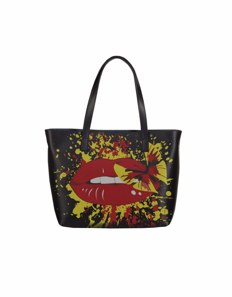 сумка с модным принтом от Qlare заказать
