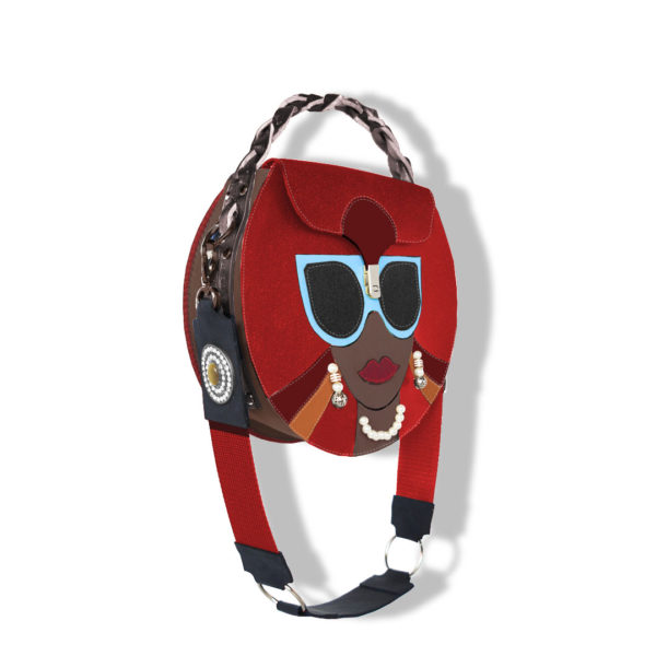сумка в стиле pop art от stas qlare shvechkov