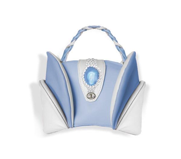 брендовая женская сумочка из кожи от qlare из кожи заказать