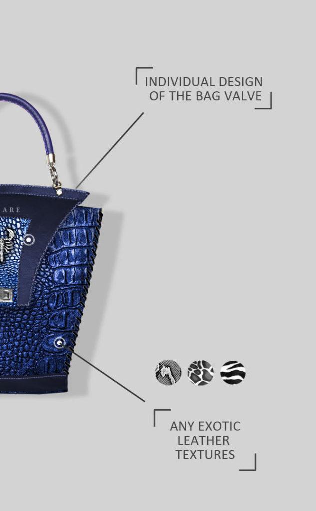 разработка дизайна эксклюзивных сумок Stas Qlare Швечков