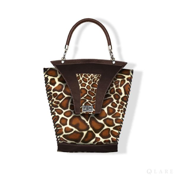 сумка кожи леопарда заказать Stas Qlare