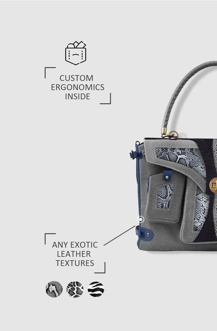 эксклюзивные мужские сумки Stas Qlare Швечков заказать пошив
